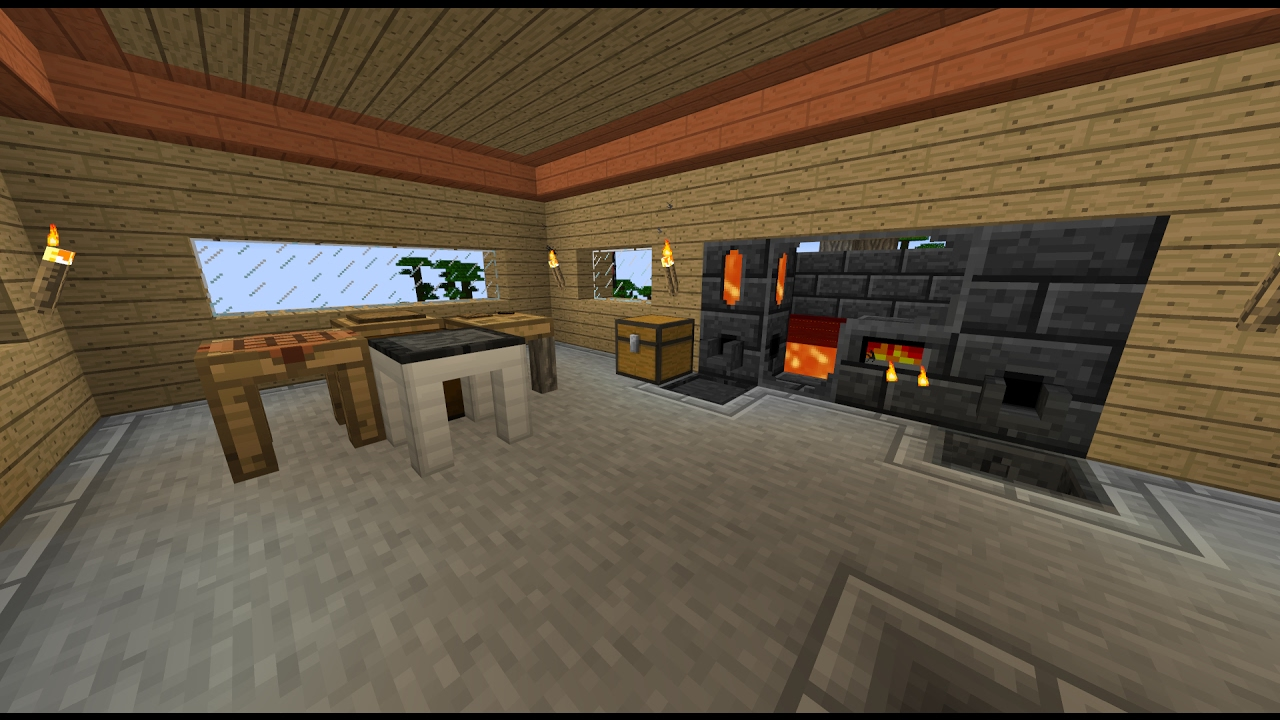 *Outdated* Minecraft: Tinkers Construct How to make Lavawood/Firewood and  put Lava into Smelter by NTA YATYAS82