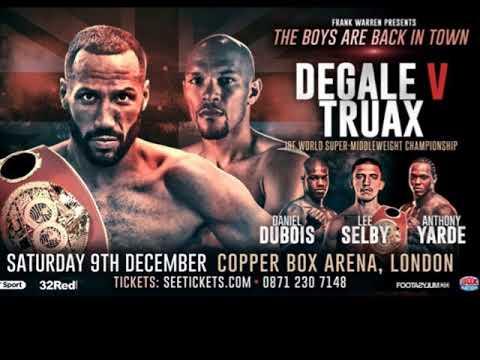 Image result for James DeGale vs Caleb Truax Fight  pic