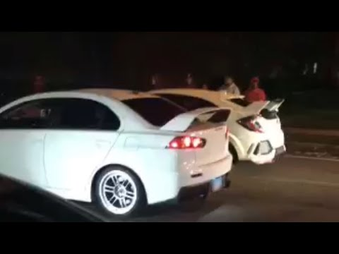 Civic Type R Runs The Evo X From A Dig!? MUST WATCH!