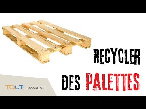 Id es pour recycler des palettes - Recycler des palettes ...