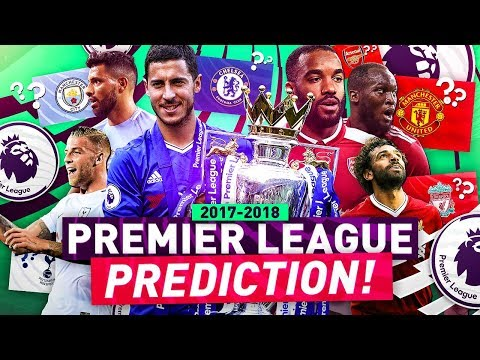 PREMIER LEAGUE PREDICTION!