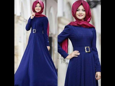 8847846b9 أجمل و أروع موديلات ملابس محجبات التركية 2016 - YouTube
