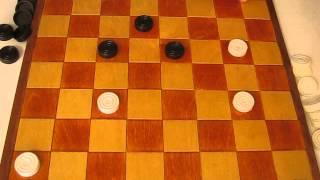 MVI 2493 Оппозиция (ч.3 продолжение) Видео урок по шашкам для начинающих. Opposition. Draughts. 3