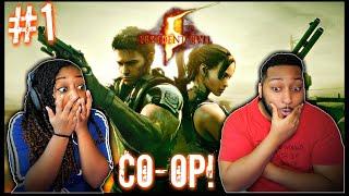 IT'S FINALLY HERE!! | Resident Evil 5 Co-op w/ @Dwayne Kyng | Part 1