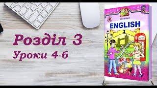 Англійська мова (2 клас) Алла Несвіт / Розділ 3 (Уроки 4-6)