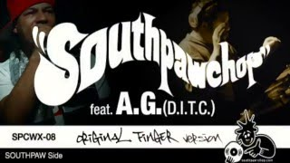 """Finger Prints on The Record"" [TRAILER] Southpaw Chop feat A.G.(D.I.T.C.)"