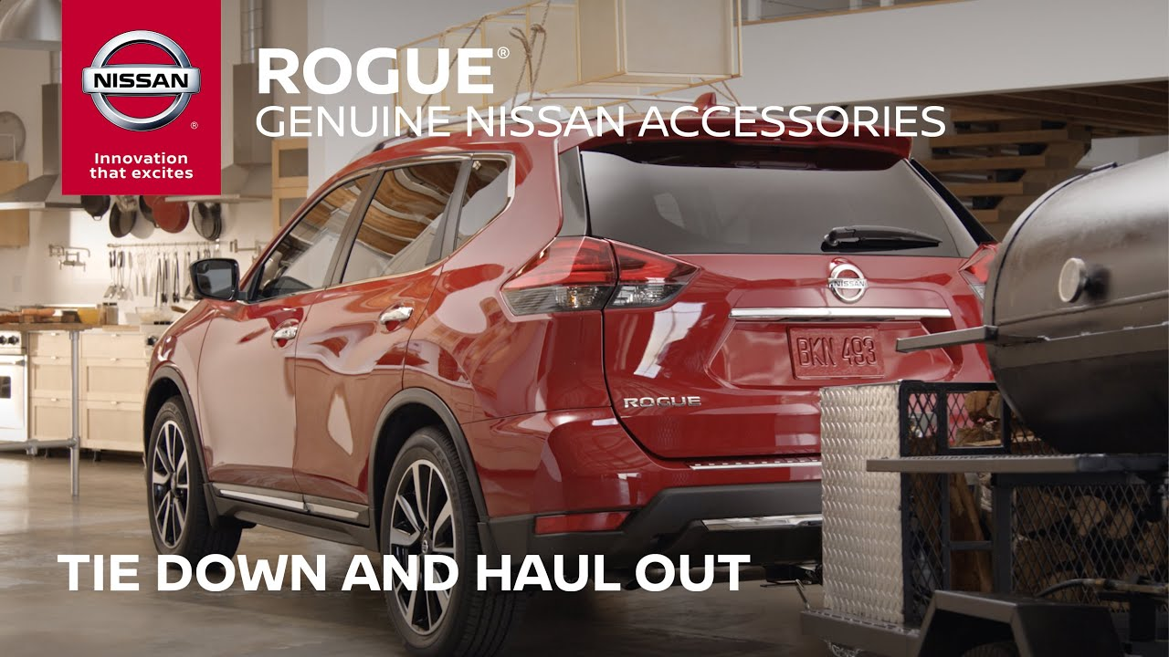 2017 Nissan Rogue Accessories | Load up the Take Alongs ...