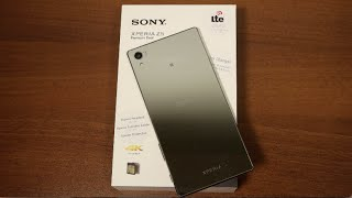 فتح علبة سوني | إكسبيريا Z5 بريميوم | Unboxing Sony Xperia Z5 Premium
