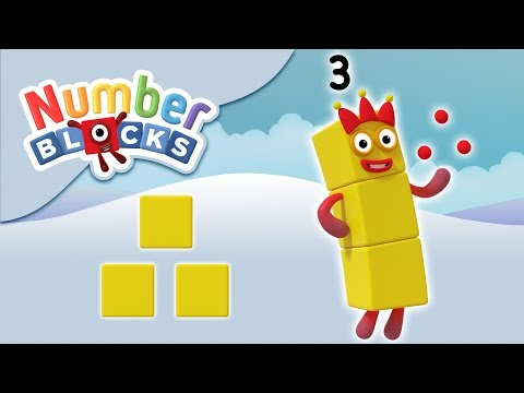 Numberblocks - The Number Three | Learn to Count