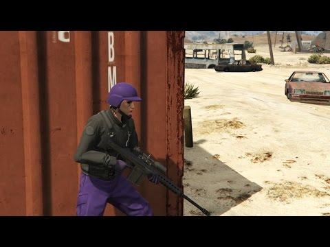 HELP MIJ, SNIPE HEM NEER! (GTA V Online Gungame Kill Quota #2)