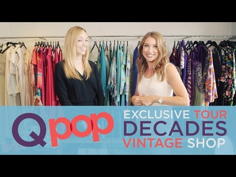 Take a Tour of Decades Vintage Shop - Qpop