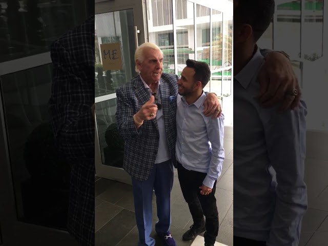 The Nature Boy Ric Flair And Anwar Jibawi
