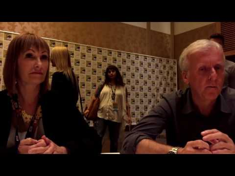 SDCC16 - Aliens - Gale Anne Hurd and James Cameron Interview