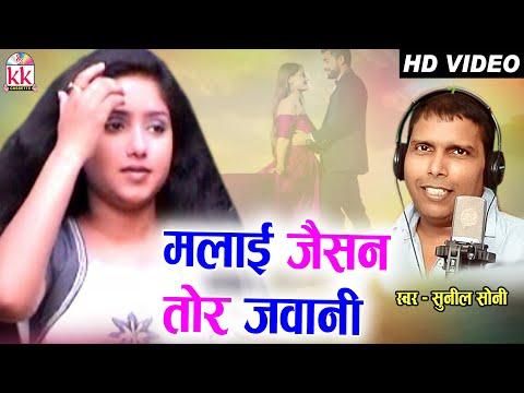 Sunil Soni | Cg Song | Malayi Jaise Tor Jawani | Rajendra| Silki | Chhattisgarhi Geet | AVM STUDIO