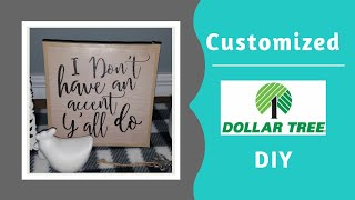 Dollar Tree DIY - Make Your Own Canvas Wall Art - 2019