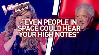 Her HIGH NOTES knock TOM JONES out! | Winner