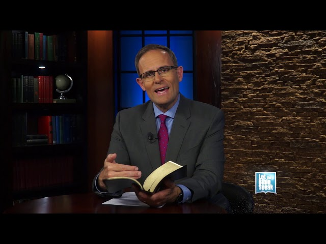 LET THE BIBLE SPEAK - The Sufficiency Of The Bible
