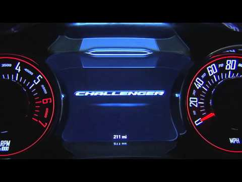 2016 Dodge Challenger |Driver Information Display (DID)