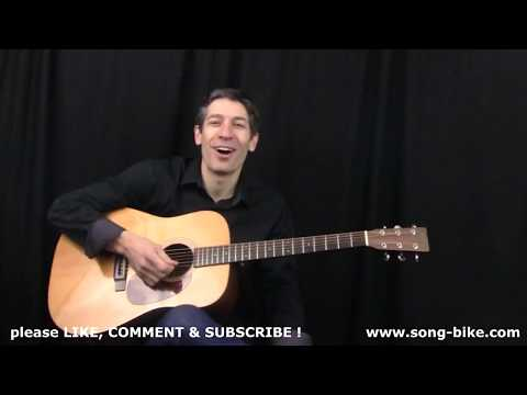 """Honky Tonkin'"" by Hank Williams : 365 Riffs For Beginning Guitar !!"