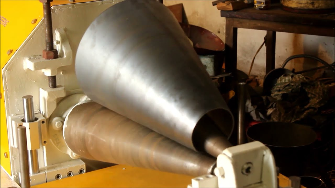Cone Making Machine V2 Www Vesurface Com Plate Rolling