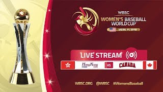 Hong Kong v Canada - Women's Baseball World Cup 2018