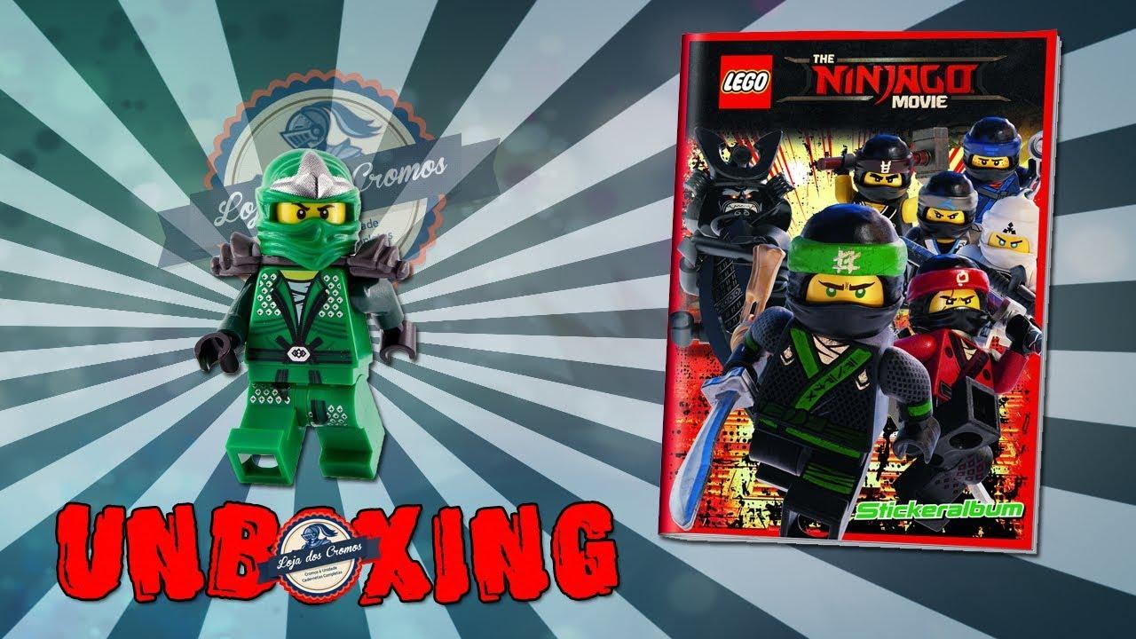Movie Blue Ocean LEGO Ninjago Sammelsticker 225