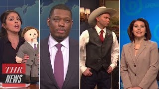 'SNL' Rewind: Tiffany Haddish Hosts, Louis C.K., Roy Moore and Donald Trump Mocked | THR News