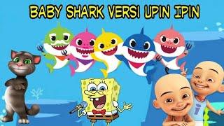 Baby Shark Versi Upin Ipin dan Kucing Tom | Lagu Baby Shark Terbaru | Lagu Anak Indonesia Terpopuler
