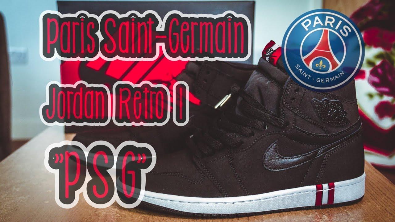 ddea1dbca171 Paris Saint-Germain x Jordan 1