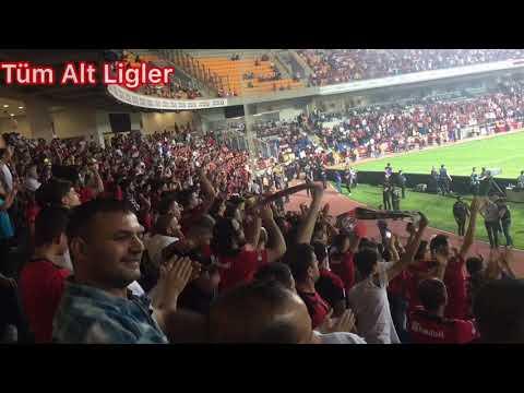 Gazişehir Gaziantep vs Hatayspor maç özeti  Şampiyon Gazişehir Gaziantep Tribunu