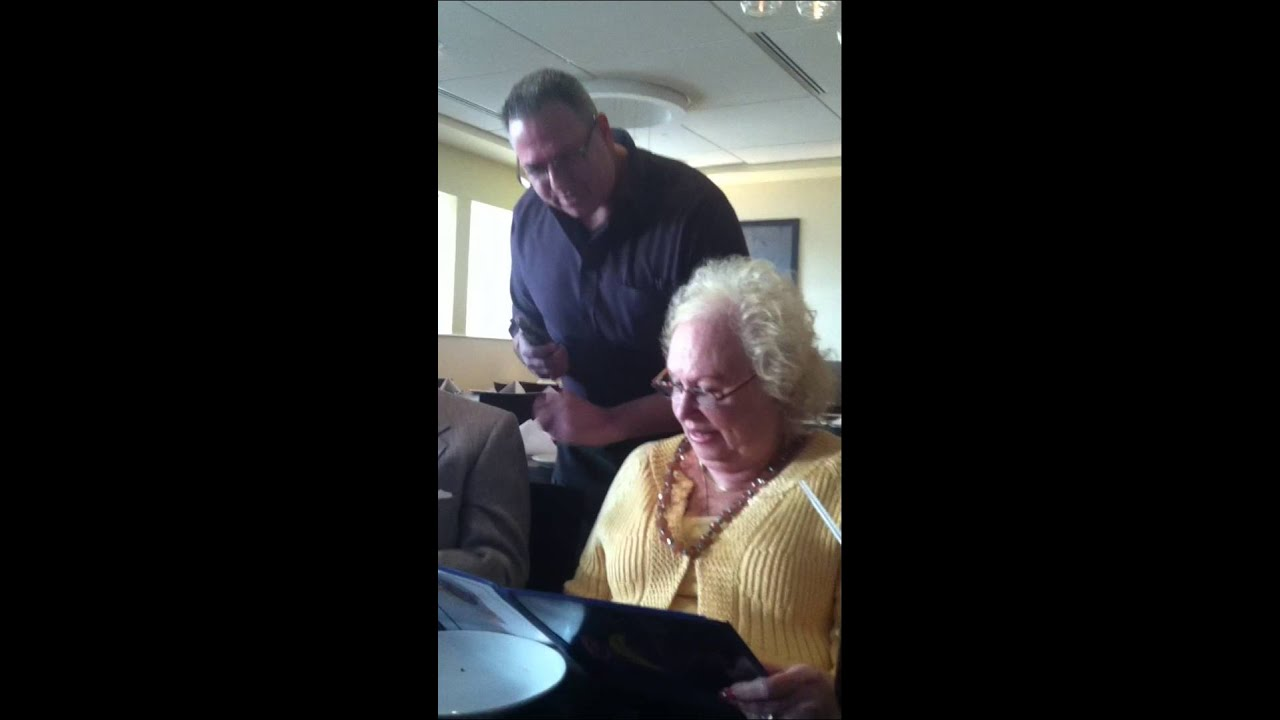 Funny Video: Old Couple Have No Idea Their Waiter is Their Son