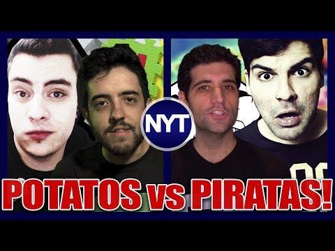 TRETA! Potatos VS Piratas - Drezzy manda indireta e Cross responde PISTOLAÇO! Entenda a TRETA!
