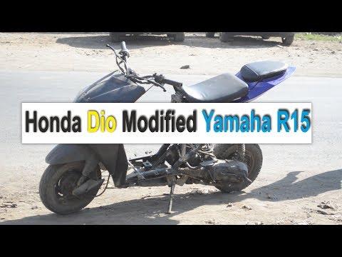 Honda Dio Modified Yamaha R15 | BSB VLOGS