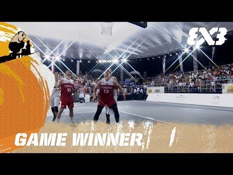 Hungary with the Game Winner - FIBA 3x3 U18 World Cup