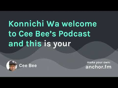 Cee Bee's Motivational Podcast Episode 10: interview with Kate Brown