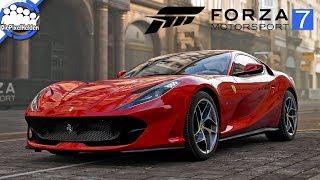 FORZA MOTORSPORT 7 - Ferrari 812 Superfast - Top Gear Car Pack - Review [german / deutsch]