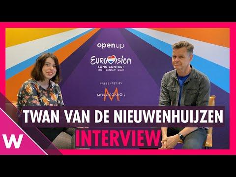 Eurovision 2021: Head of Contest Twan van de Nieuwenhuijzen on SF running order and live-on-tape