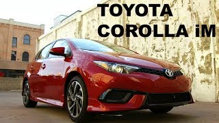 2017 Toyota Corolla iM - Review and Road Test