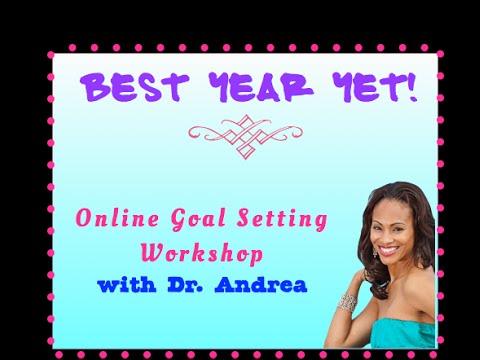 Success Skills Seminar for SMARTER Goal Setting with Dr Andrea Pennington