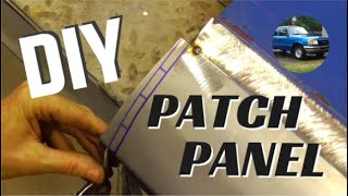 How to Make Your Own Auto Body Patch Panels for Rust Repair