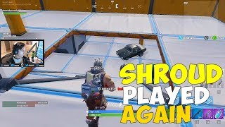 Meilleur but de tous les temps dans fortnite Saison 7 - Shroud Played Fortnite Again - Custom Map