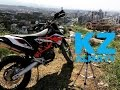 One day with KTM 690 Enduro in the CITY