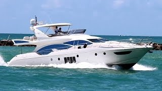 Azimut 70 Flybridge Yacht in Miami | RAMAYA