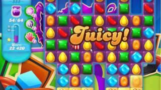 Candy Crush Soda Saga - Level 555 (No boosters)