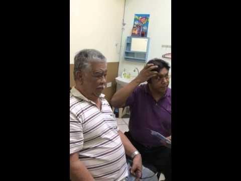 Treatment by professor Dr Harlem Shah