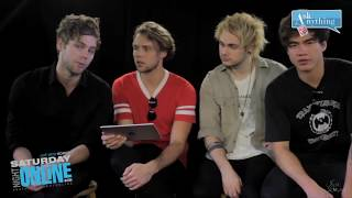 5sos ask anything chat but better