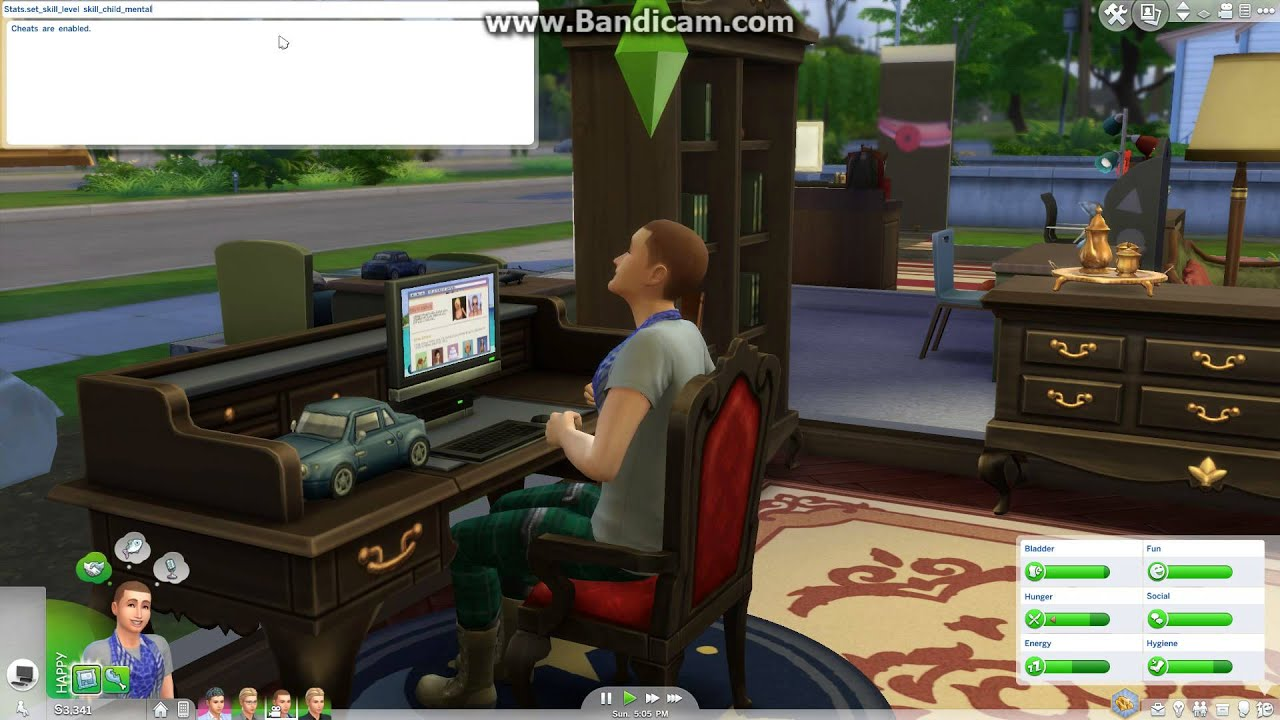 how to change needs sims 4 cheat