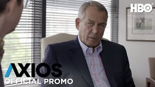 AXIOS On HBO: John Boehner (Season 2 Episode 4 Promo) | HBO