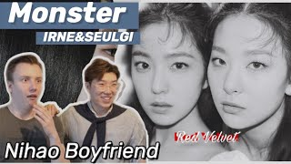 🌈GAY Couple REACTS to Red Velvet - IRENE & SEULGI 'Monster' MV Reaction | Nihao Boyfriend