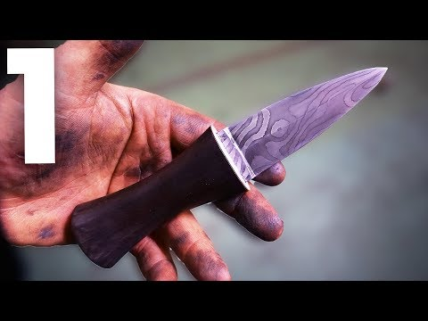 "Making a Scottish Dagger ""SGIAN DUBH"" with Mike Boyd!!"